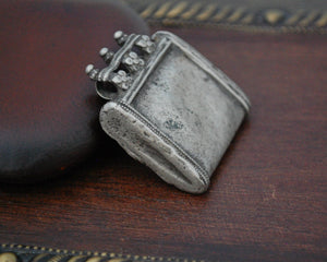 Old Tribal Silver Rajasthani Pendant