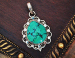 Turquoise Pendant from India