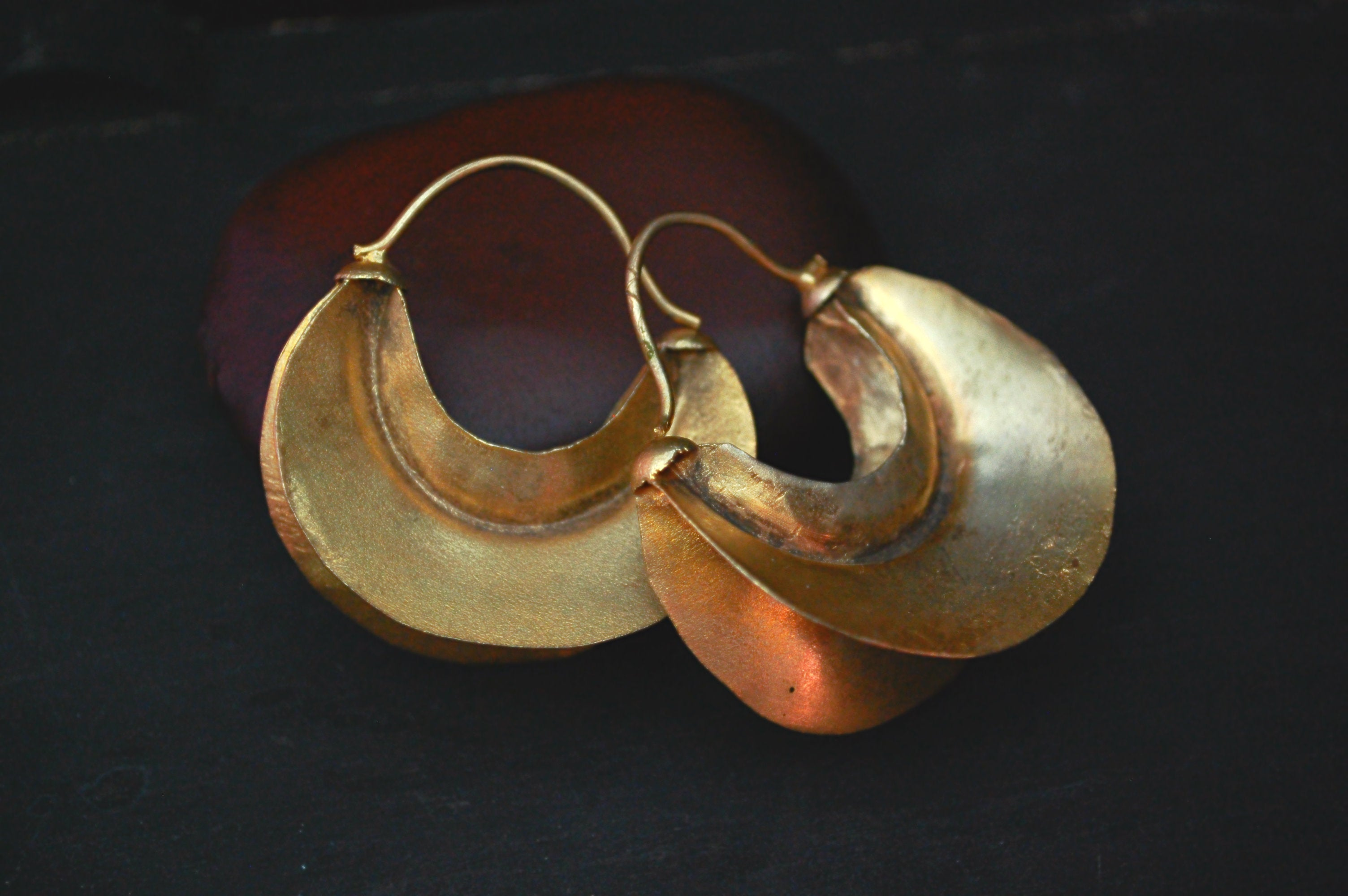 Fulani Hoop Earrings LARGE