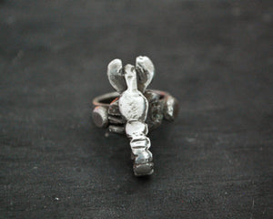 Antique Tuareg Scorpion Ring - Size 6.5