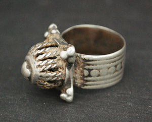 Antique Omani Silver Ring - Size 7