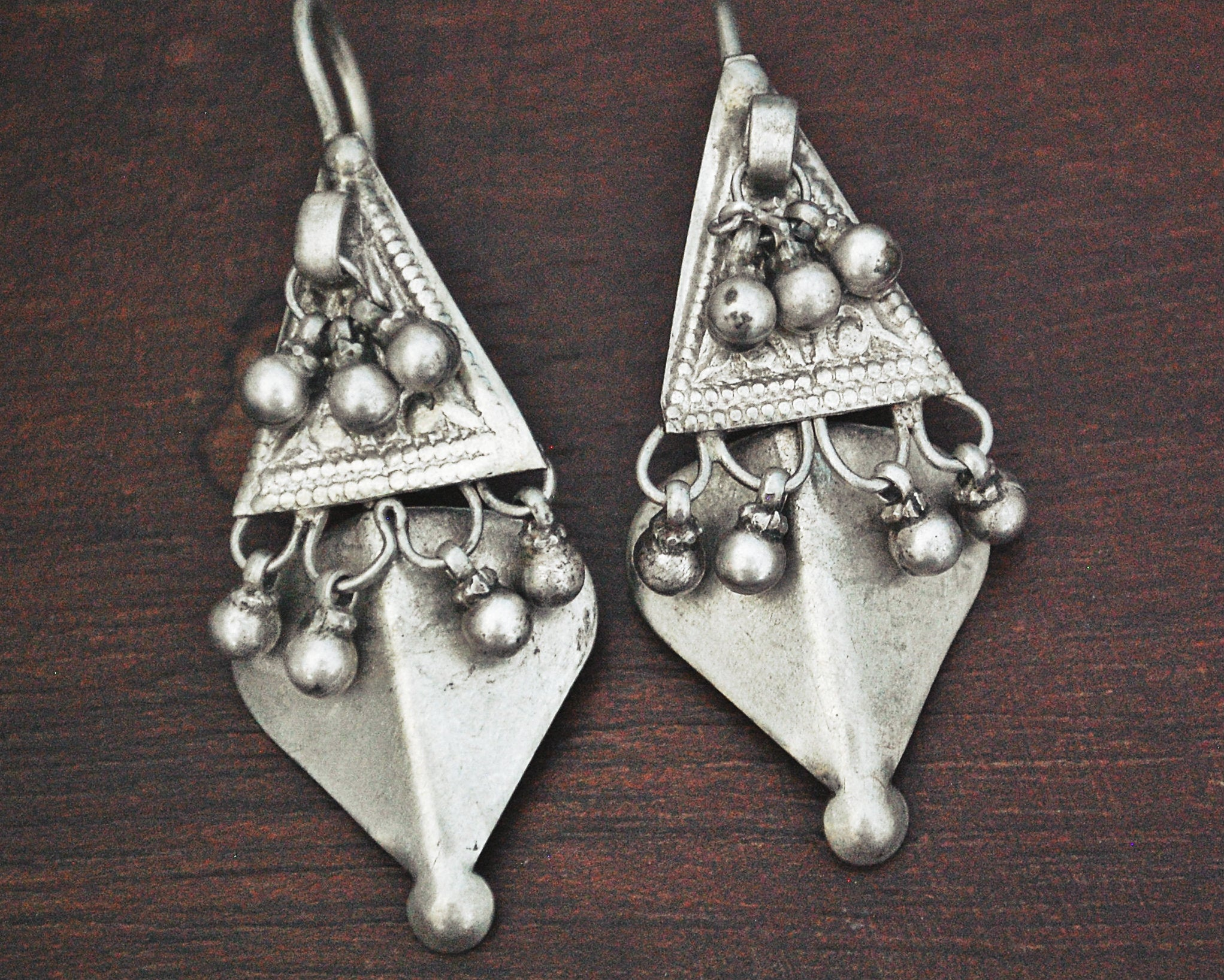 Tribal Rajasthani Silver Earrings
