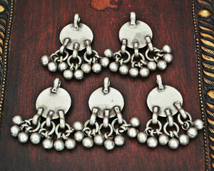 Old Afghani Silver Charms with Bells