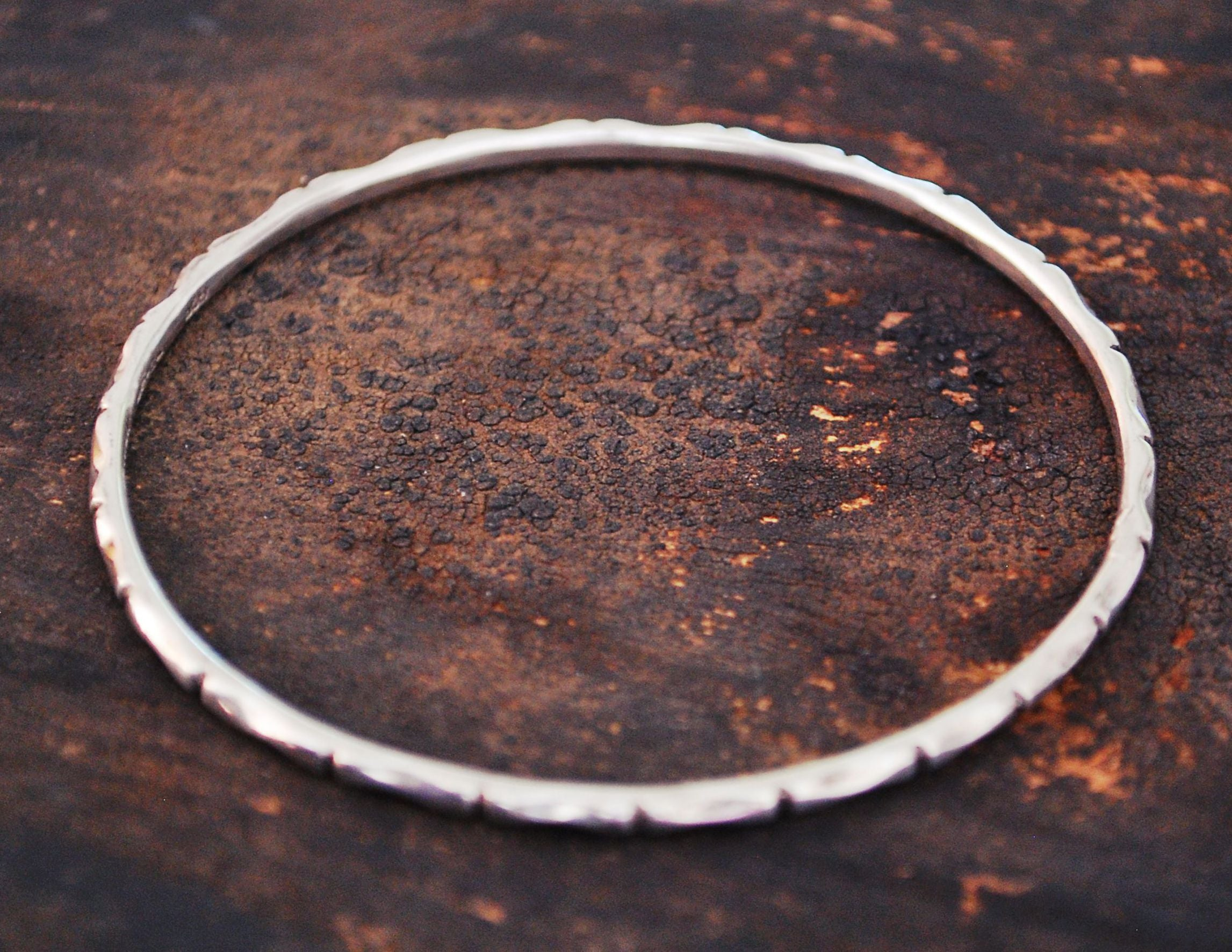 Mexican Bamboo Bangle Bracelet