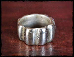 Old Berber Ring - Size 7.5 - Tribal Old Moroccan Berber Ring - Berber Jewelry - Tuareg Silver Ring - Tuareg Jewelry