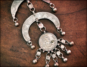 Antique Nubian Bedouin Pendant from Egypt - Bedouin Silver Pendant - Bedouin Silver Jewelry - Egypt Jewelry - Nubian Jewelry