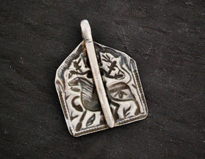 Antique Indian Amulet Bhumiya Raj - Antique Tribal Hindu Amulet Pendant - Indian Tribal Hindu Amulet - Hindu Amulet - Bhumiya Raj