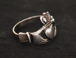 Claddagh Ring - Size 10 - Engagement Ring - Sweetheart Ring