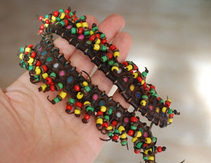 Old Wodaabe Fulani Leather Bracelet or Anklet