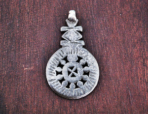 Antique Ethiopian Coptic Cross Amulet