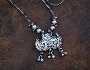 Rajasthani Silver Necklace