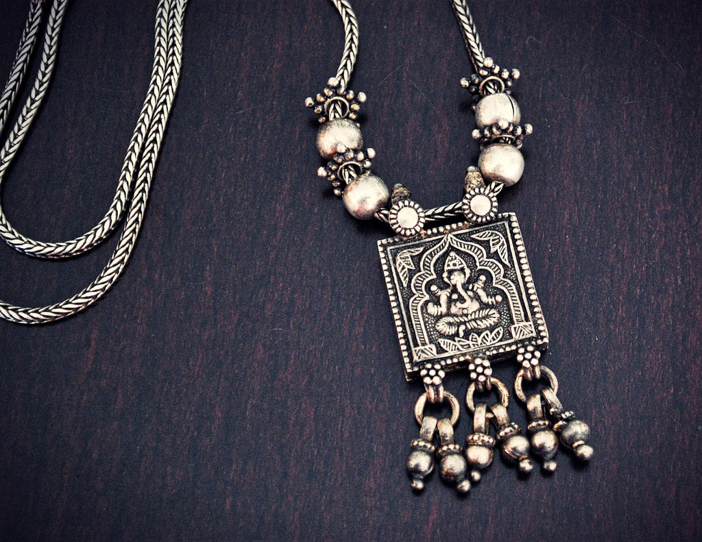 Rajasthani Ganesha Necklace
