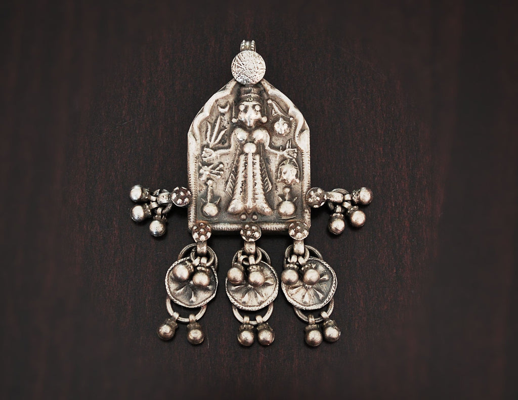 Antique Kali Amulet