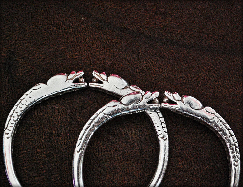 Chinese Dragon Bracelet - Pair - Antique Chinese Bracelet - Chinese Dragon Bracelet