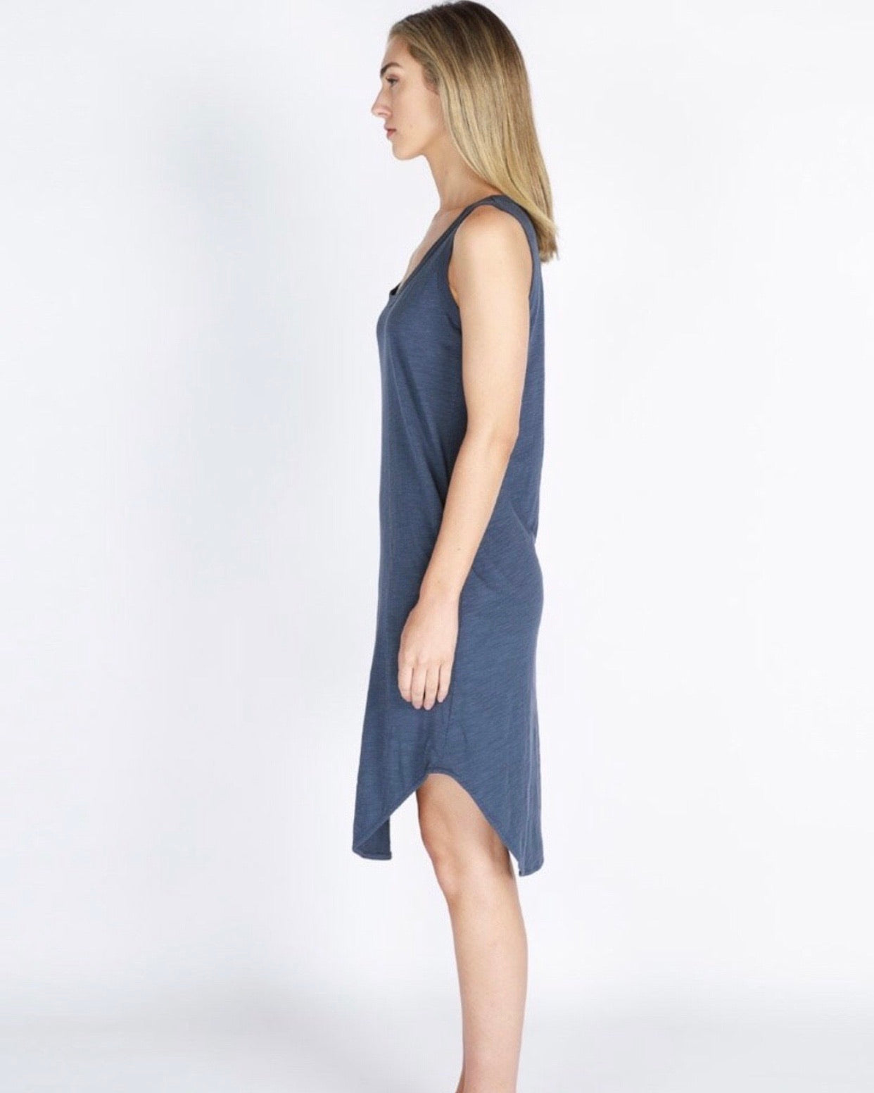 Bailey Midi Dress Indigo 3rd Story the Label
