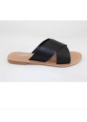 Human Shoes Quinn Leather Slides