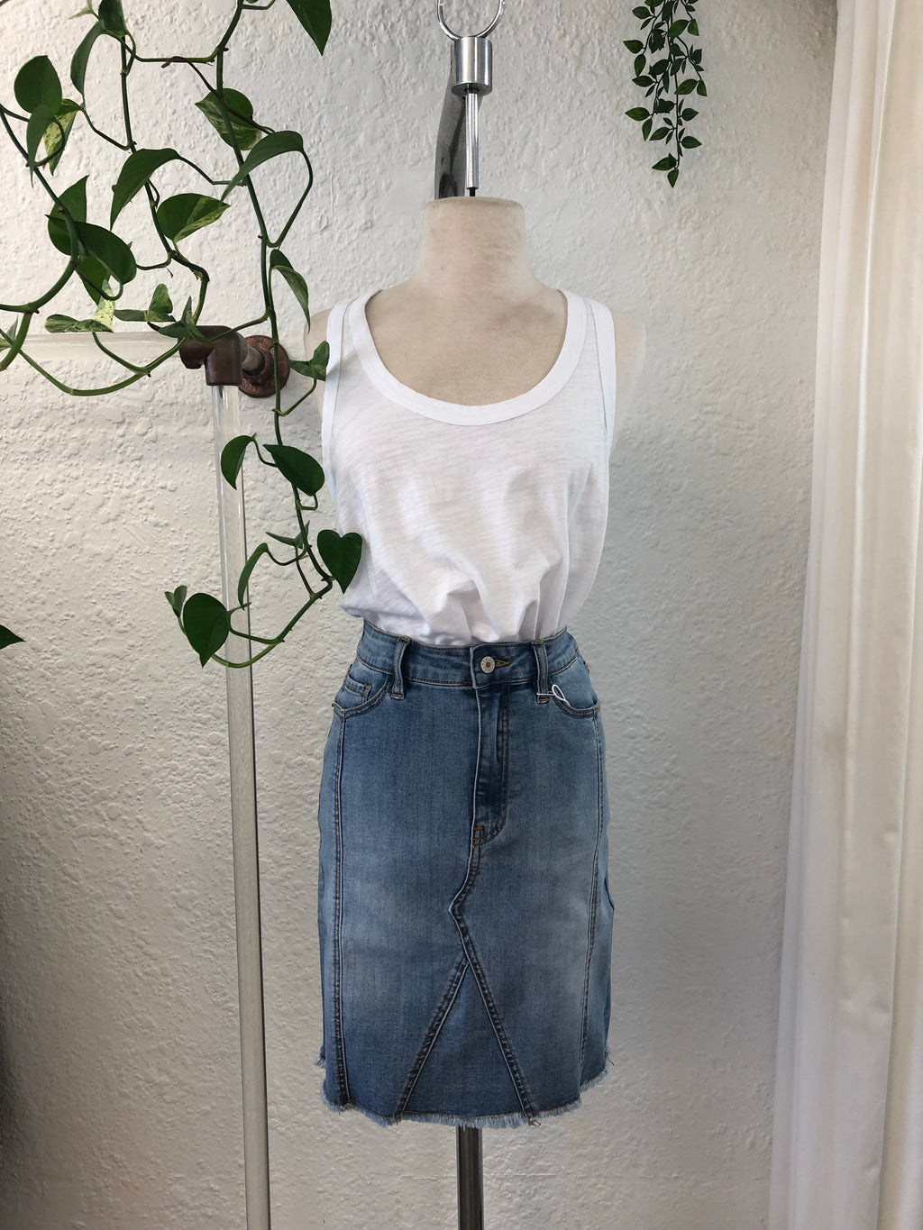 Saint Rose denim skirt