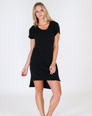 Berlin Tunic Dress Black 3rd Story the label