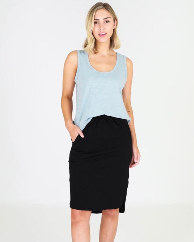 Olivia Skirt in Black by 3rd Story the label