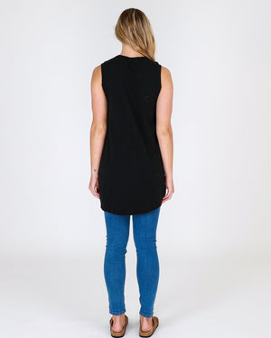 Madison Tank in Black by 3rd Story the Label