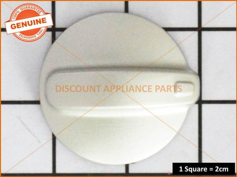 WESTINGHOUSE COOKTOP STAINLESS STEEL KNOB PART # 0019008096