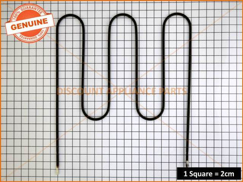 CHEF SIMPSON WESTINGHOUSE OVEN GRILL ELEMENT PART # 0122004499