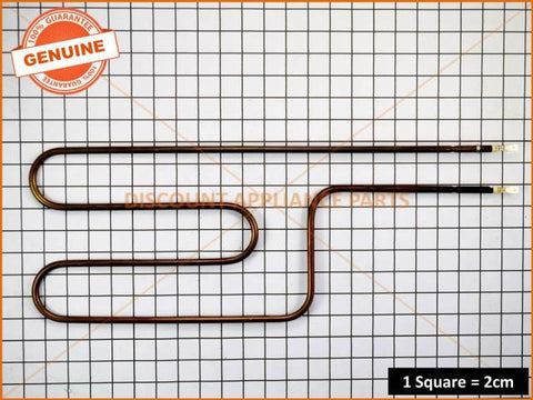 SIMPSON WESTINGHOUSE ELECTROLUX OVEN ELEMENT SPLIT HALF GRILL PART # 0122004503
