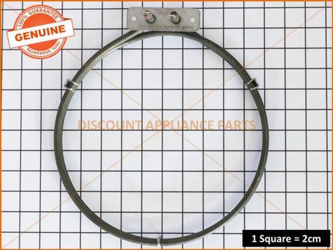 CHEF SIMPSON WESTINGHOUSE OVEN ELEMENT FAN RING EGO PART # 0122004574