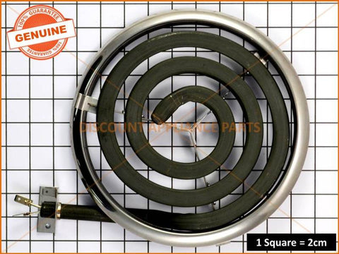 WESTINGHOUSE COOKTOP MONO ELEMENT & TRIM KIT PART # 0122777324
