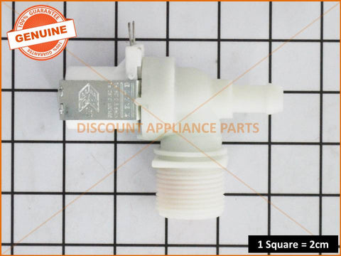 SIMPSON WASHING MACHINE HOT VALVE ASSY INLET 90DEG 10MM ID PART # 0136200082