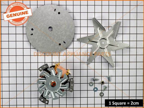 SIMPSON WESTINGHOUSE CHEF OVEN FAN MOTOR KIT PART # 0214777077