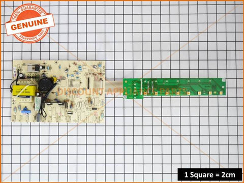 CHEF DISHLEX ELECTRONIC DISHWASHER CONTROL BOARD PART # 0367400108