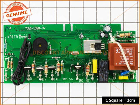 DISHLEX DISHWASHER ELECTRONIC BOARD PART # 0367400109