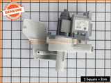 ELECTROLUX WASHING MACHINE RECIRCULATION PUMP ASSY PART # 132115270