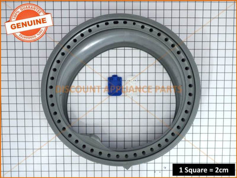 ELECTROLUX WASHING MACHINE BELLOW DOOR GASKET PART # 132561520K