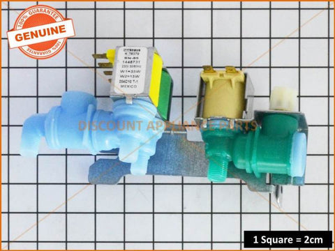 ELECTROLUX WESTINGHOUSE REFRIGERATOR TRIPLE WATER VALVE PART # 1448731