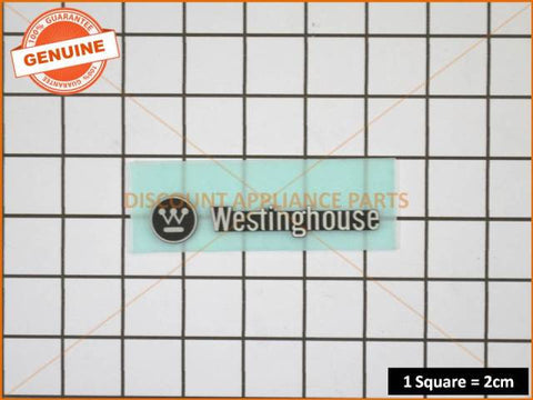 WESTINGHOUSE REFRIGERATOR BADGE PART # 1458193