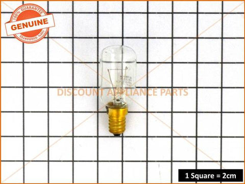 WESTINGHOUSE SIMPSON ELECTROLUX FISHER & PAYKEL REFRIGERATOR LAMP 40W SES T29 PART # 3192560070