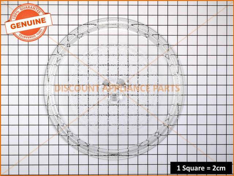 LG MICROWAVE GLASS PLATE PART # 3390W1G010A # 3390W1G012B