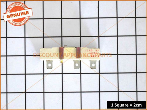 CHEF OVEN PARISIENNE FAN SPEED RESISTOR PART # 37162