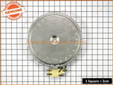 CHEF WESTINGHOUSE COOKTOP RADIANT HEATER D180/1800W/230V PART # 3740636-21/6