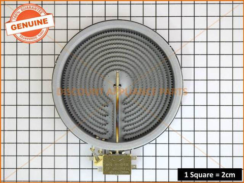 WESTINGHOUSE SIMPSON CHEF COOKTOP ELEMENT RIBBON SINGLE 1800W PART # 374063622