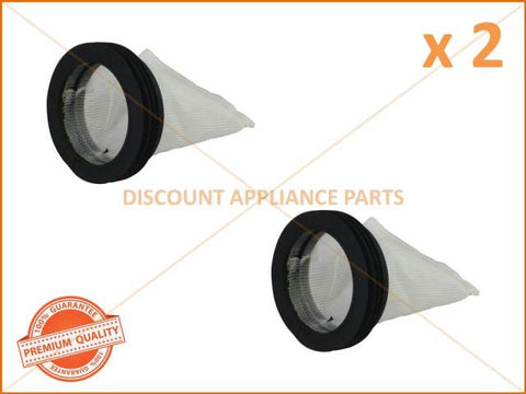 2 x HOOVER WASHING MACHINE LINT FILTER AND SEAL PART # 38784403