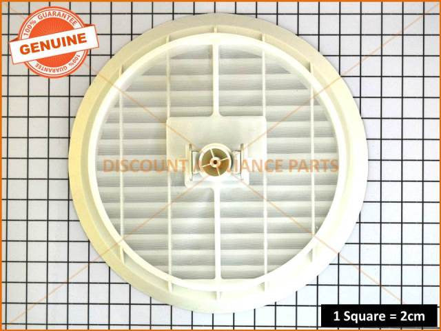 Hoover Dryer Apollo Grille Lint Filter Part 43611415
