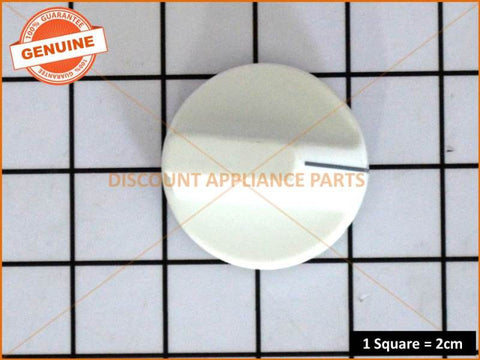 CHEF OVEN COOKTOP KNOB BAR TYPE WHITE PART # 44786