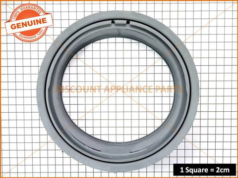LG WASHING MACHINE FRONT LOAD DOOR SEAL PART # 4986ER1003A