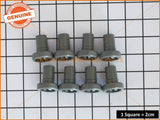 DISHLEX WESTINGHOUSE DISHWASHER TOP BASKET ROLLERS (PACKET OF 8) PART # 50286967-00/0