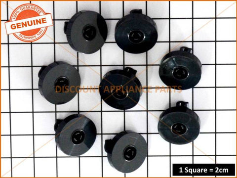 8 x FISHER & PAYKEL LOWER BASKET ROLLERS DISHWASHER PART # 521296P