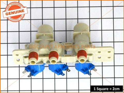 LG WASHING MACHINE TRIPLE INLET VALVE PART # 5221EA1001H