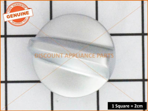 FISHER & PAYKEL COOKTOP KNOB ASSY SATIN CHROME # 531392